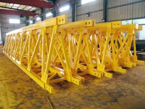 Балки для укрупнения моста крана